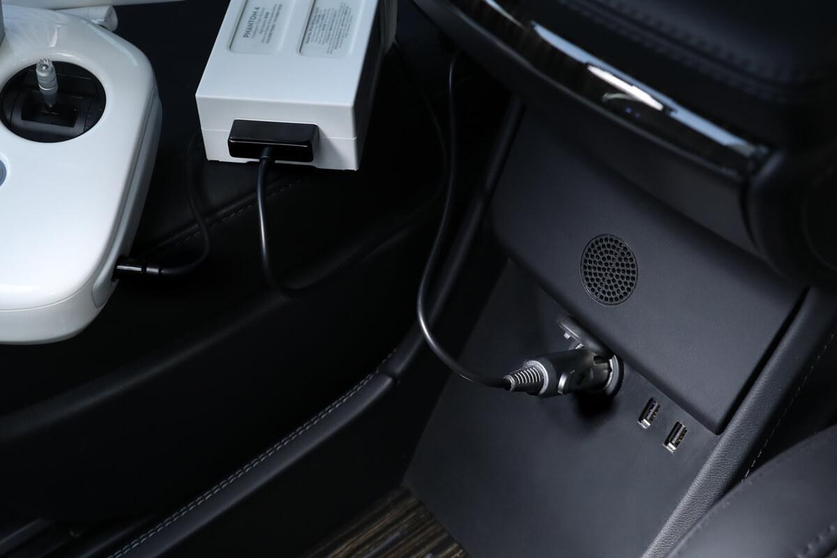 Phantom 4 Drone Car Charger Kit